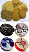 Cookies in Decorative Tin